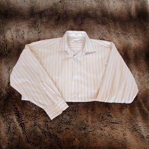 Mens Calvin Klein button down shirt